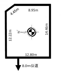 売土地 「北郷3-9」