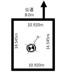 売土地「樽川8-1」