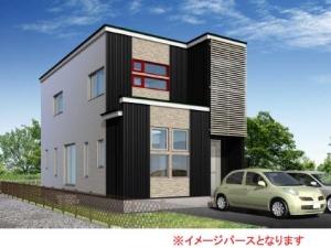 新築戸建住宅  岩見沢市北3西19 角地物件!