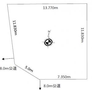 売土地 「小樽市望洋台」