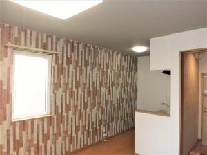 リビング・キッチン  壁・天井クロス張替