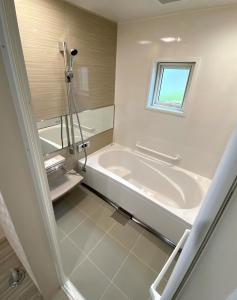 バスルーム  広々明るいバスルーム